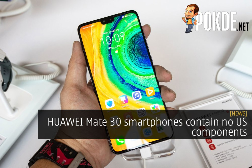 huawei no us components