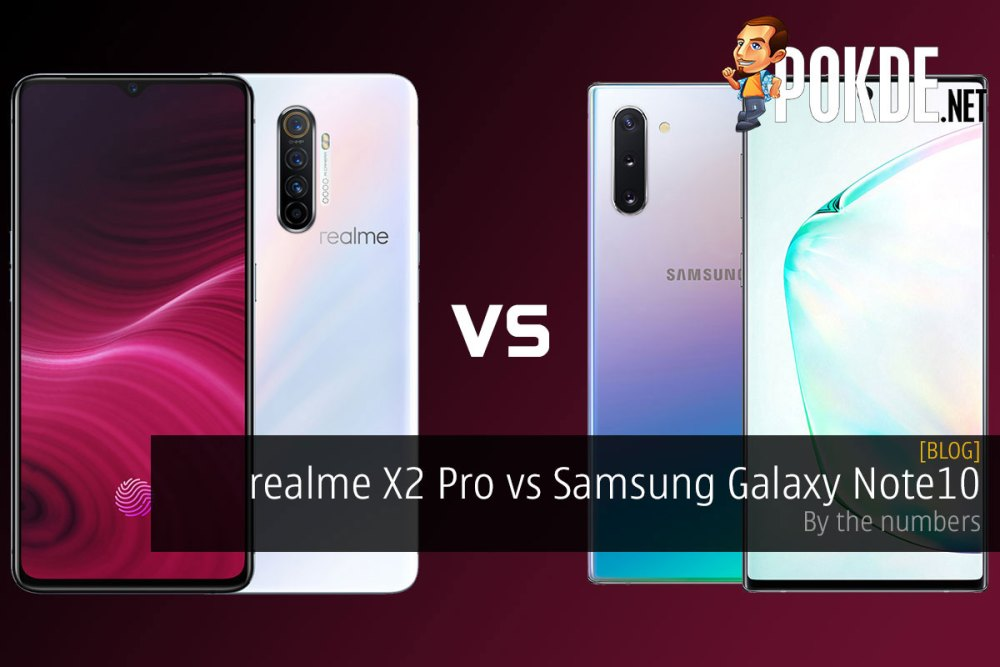 realme X2 Pro vs Samsung Galaxy Note10 — by the numbers 17