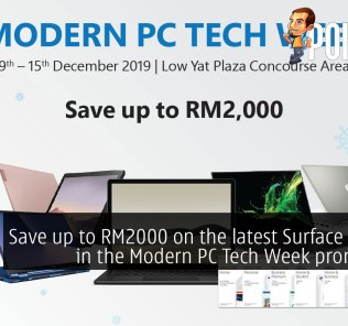 Save up to RM2000 on the latest Surface devices in the Modern PC Tech Week promotion! 31