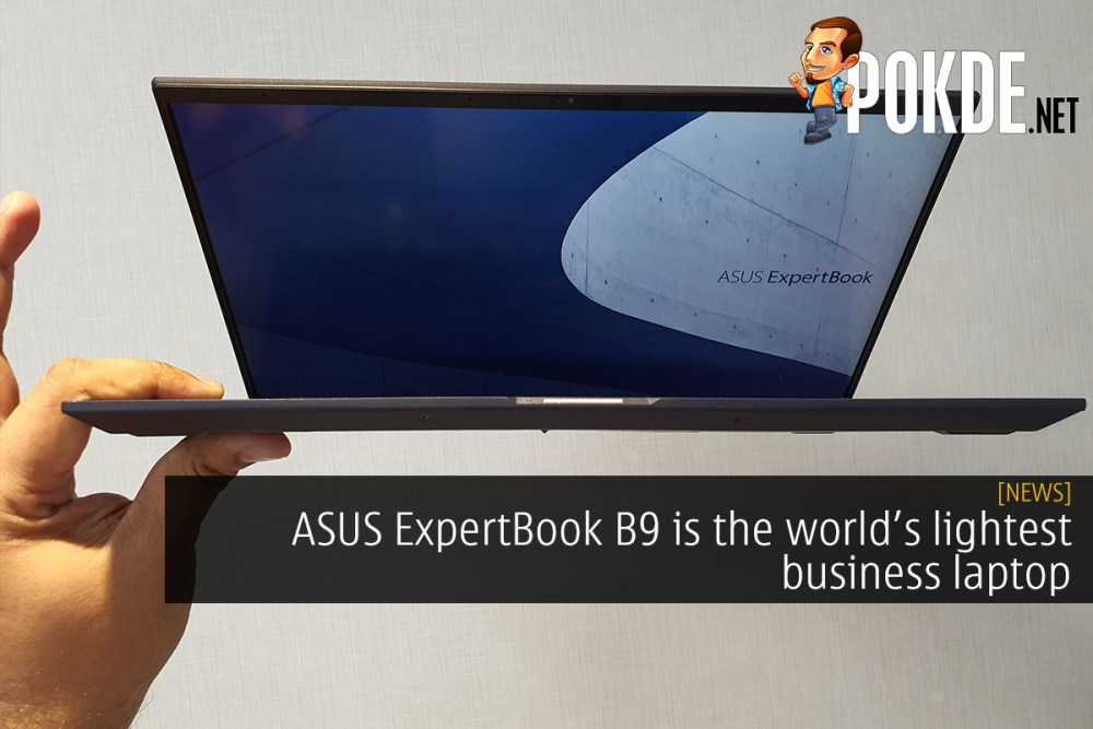 ASUS ExpertBook B9 is the world's lightest business laptop 26