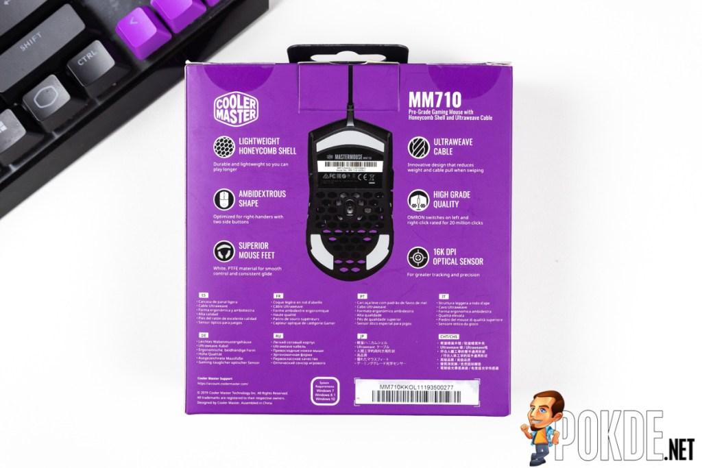 cooler master mm710 box back