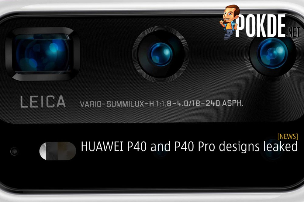 HUAWEI P40 and P40 Pro designs leaked 24