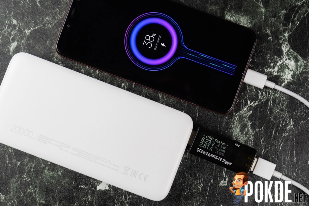 20000mAh Redmi 18W Fast Charge Power Bank Hands-On 24