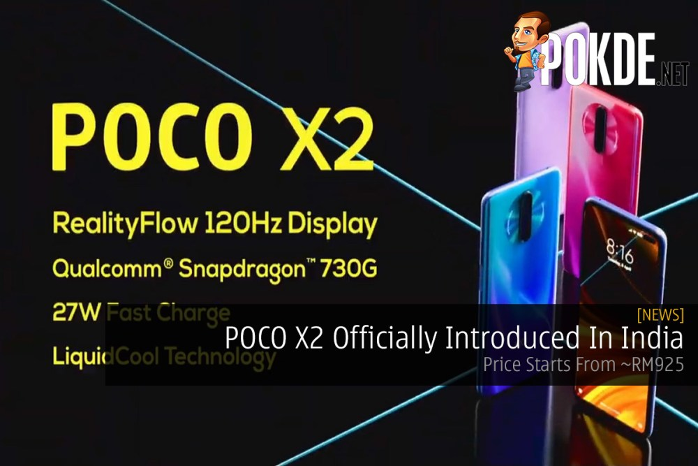 POCO X2 Officially Introduced In India — Price Starts From ~RM925 20