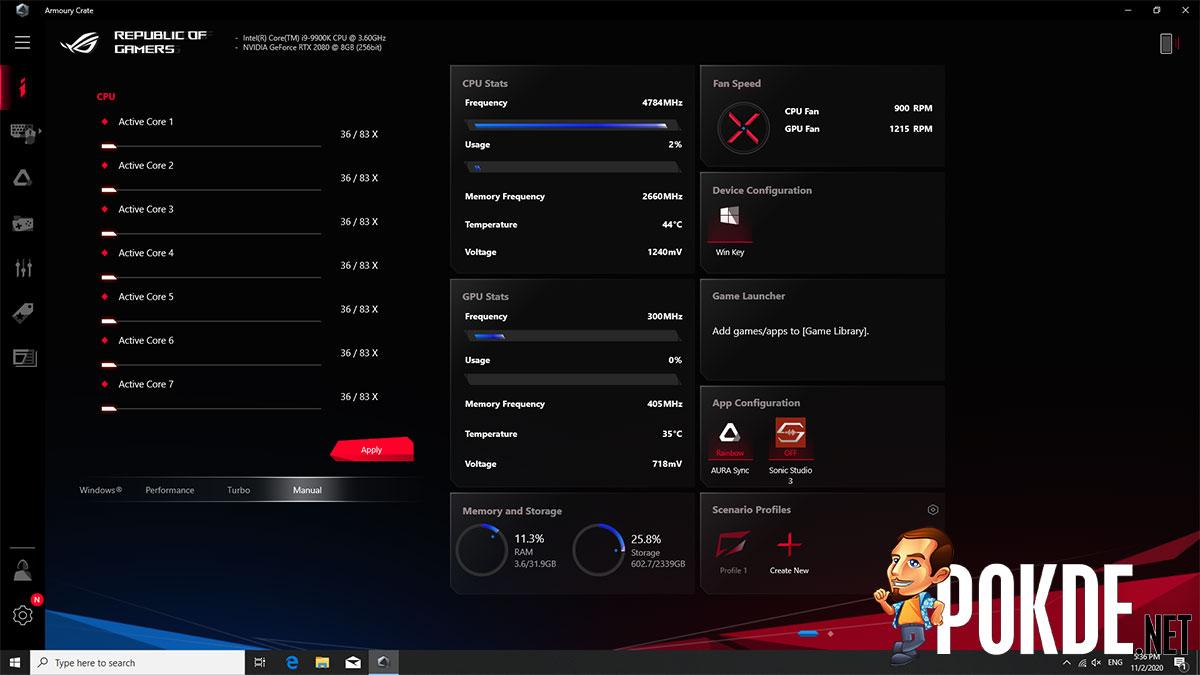 ASUS ROG Huracan (G21CX) Review — redefining gaming desktops 49