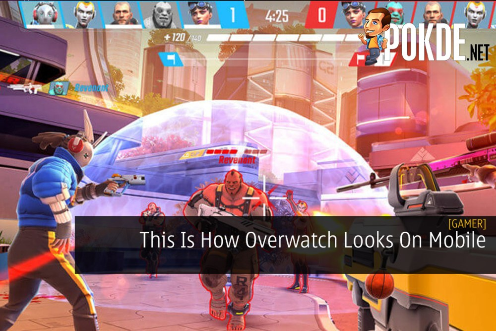 This Is How Overwatch Looks On Mobile 17