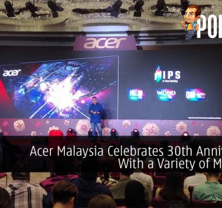 Acer Malaysia Celebrates 30th Anniversary With a Variety of Monitors for Gaming and Productivity