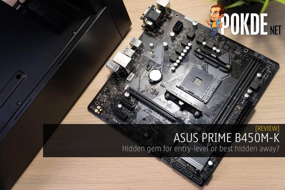 ASUS PRIME B450M-K Review – Hidden gem for entry level or best hidden away? 30