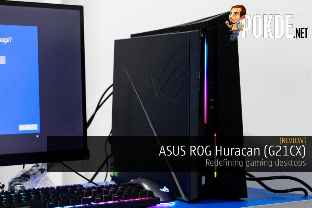 ASUS ROG Huracan (G21CX) Review — redefining gaming desktops 22