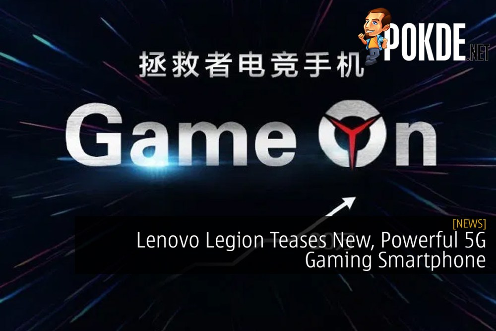 Lenovo Legion Teases New, Powerful 5G Gaming Smartphone