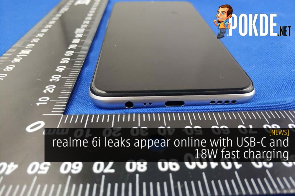 realme 6i leaks appear online with USB-C and fast charging 22