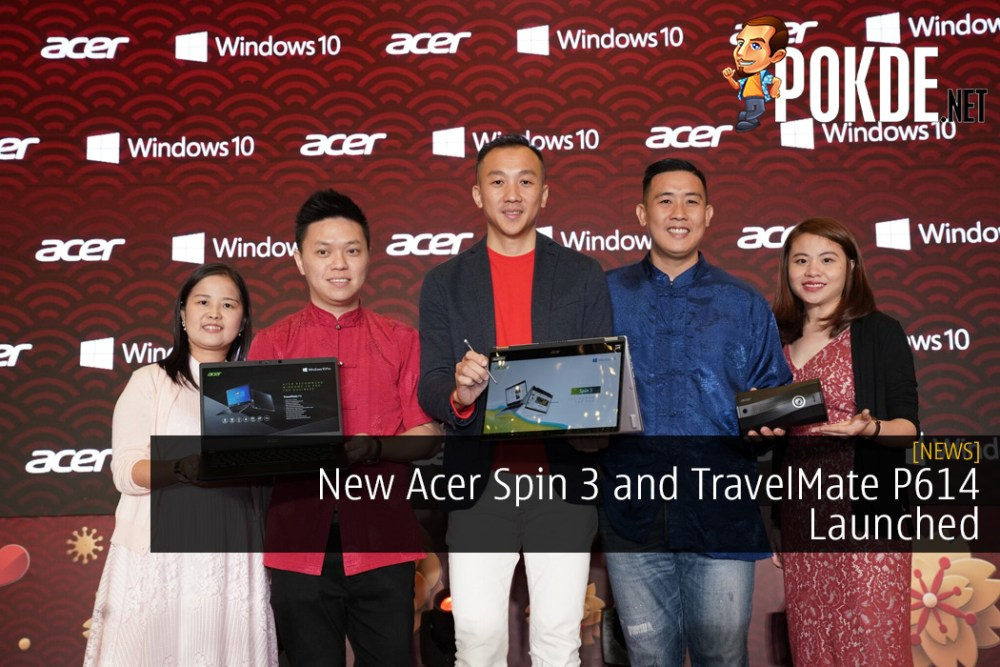 New Acer Spin 3 and TravelMate P614 Launched As Part of Acer Malaysia 30th Anniversary