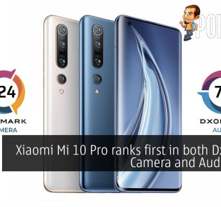 Xiaomi Mi 10 Pro ranks first in both DxOMark Camera and Audio tests 37