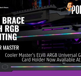 Cooler Master ELV8 ARGB Universal Graphics Card Holder Now Available At RM109 49