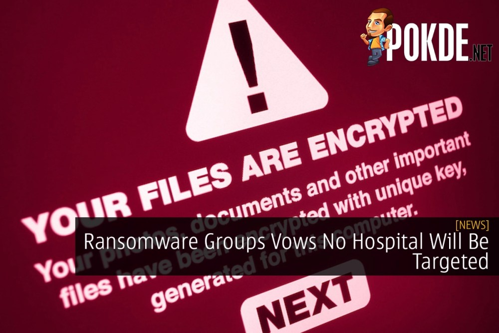 Ransomware Groups Vows No Hospital Will Be Targeted 34