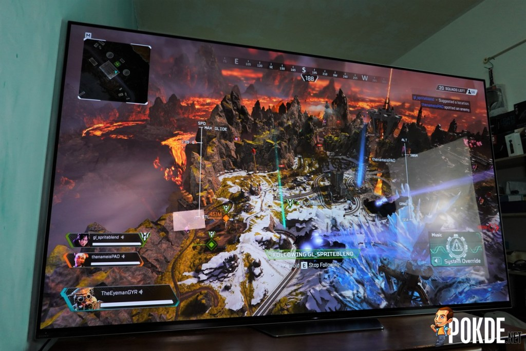 Sony A8F 4K OLED TV Review - Good for Gaming, Great for Netflix 42