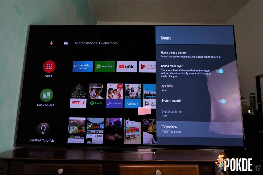 Sony A8F 4K OLED TV Review