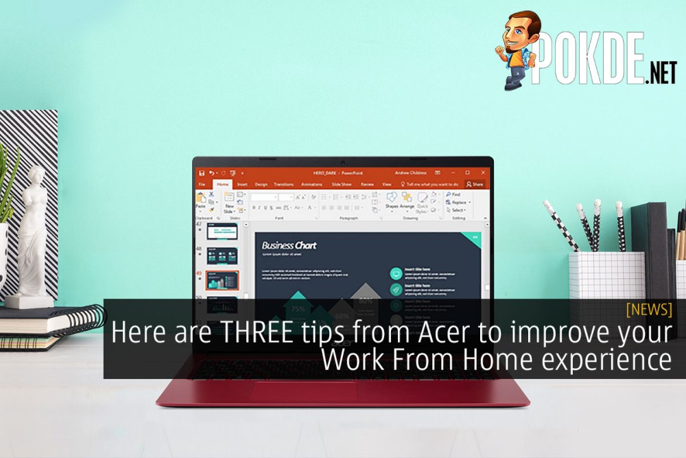 Here are THREE tips from Acer to improve your Work From Home experience 34