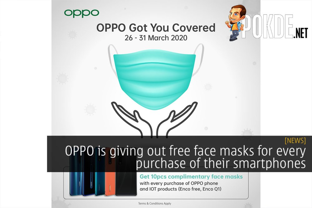 oppo free face mask