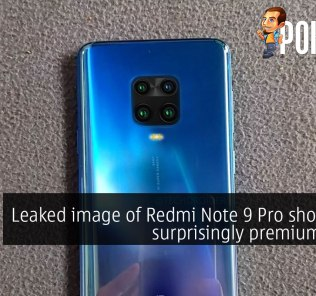 Leaked image of Redmi Note 9 Pro shows off a surprisingly premium finish 19