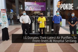 LG Donates Their Latest Air Purifiers To Front-liners At Hospital Serdang 28