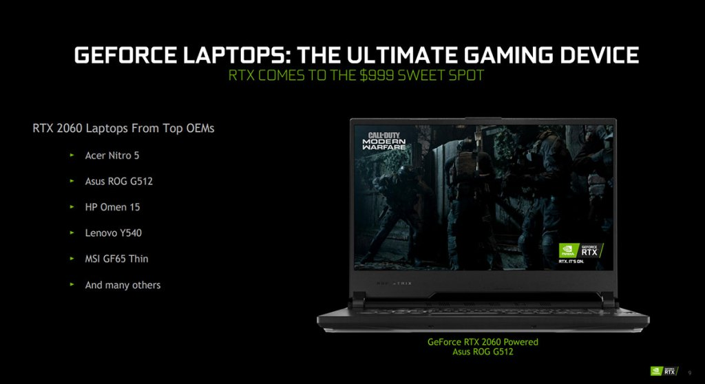 NVIDIA unveils new Max-Q technologies and GeForce RTX SUPER for laptops 32
