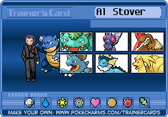 Al Stover's Trainer Card