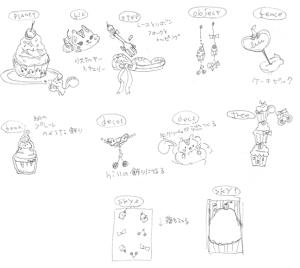 リスとチェリーケーキ_C