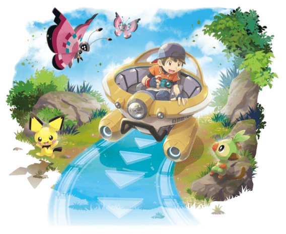 artwork New pokemon snap