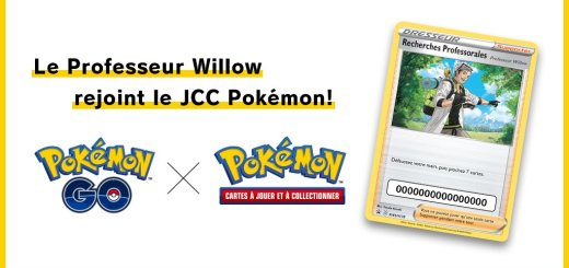Jcc Pokémon - Pokémon GO - Professeur Willow
