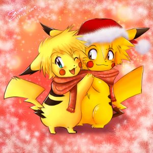 Pika_Christmas_X3_by_sunshineikimaru