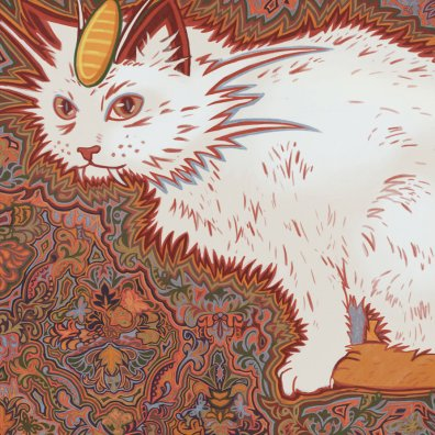 52 - Meowth - Louis Wain by Julia-Alison