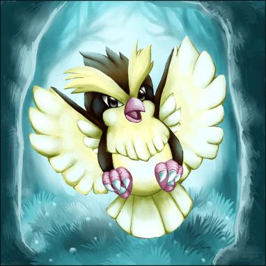 A Pidgey Encounter by Sayuri-Lilly