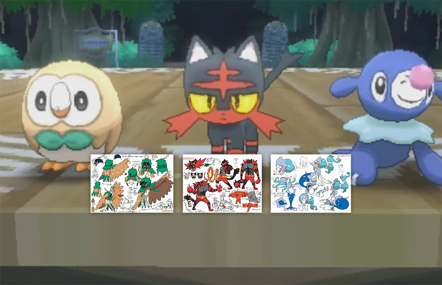Pokemon Litten Sun and Moon Starters Mascot Key Chain Anime Manga NEW