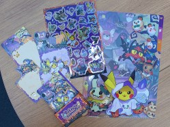 Halloween 2017 Stationary - coming to Pokémon Centers September 2nd!