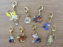 Halloween 2017 Charms - coming to Pokémon Centers September 2nd!