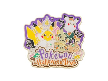 Halloween 2017 Pin - coming to Pokémon Centers September 2nd!