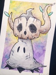 Mimikyu in Phantump Costume by @damiandcecchini