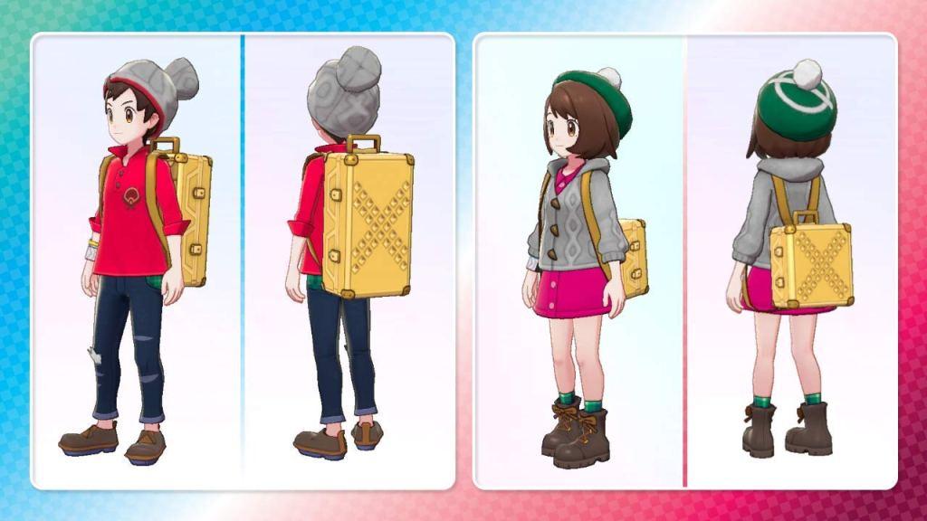 Pokémon Sword & Shield double pack pre-order bonus gold-studded backpack