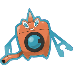 Rotom (Wash) official art