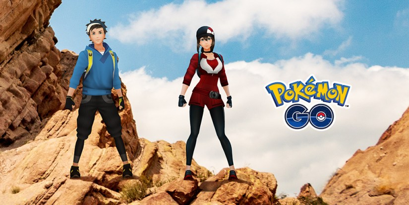 Pokémon GO exclusive avatar pose