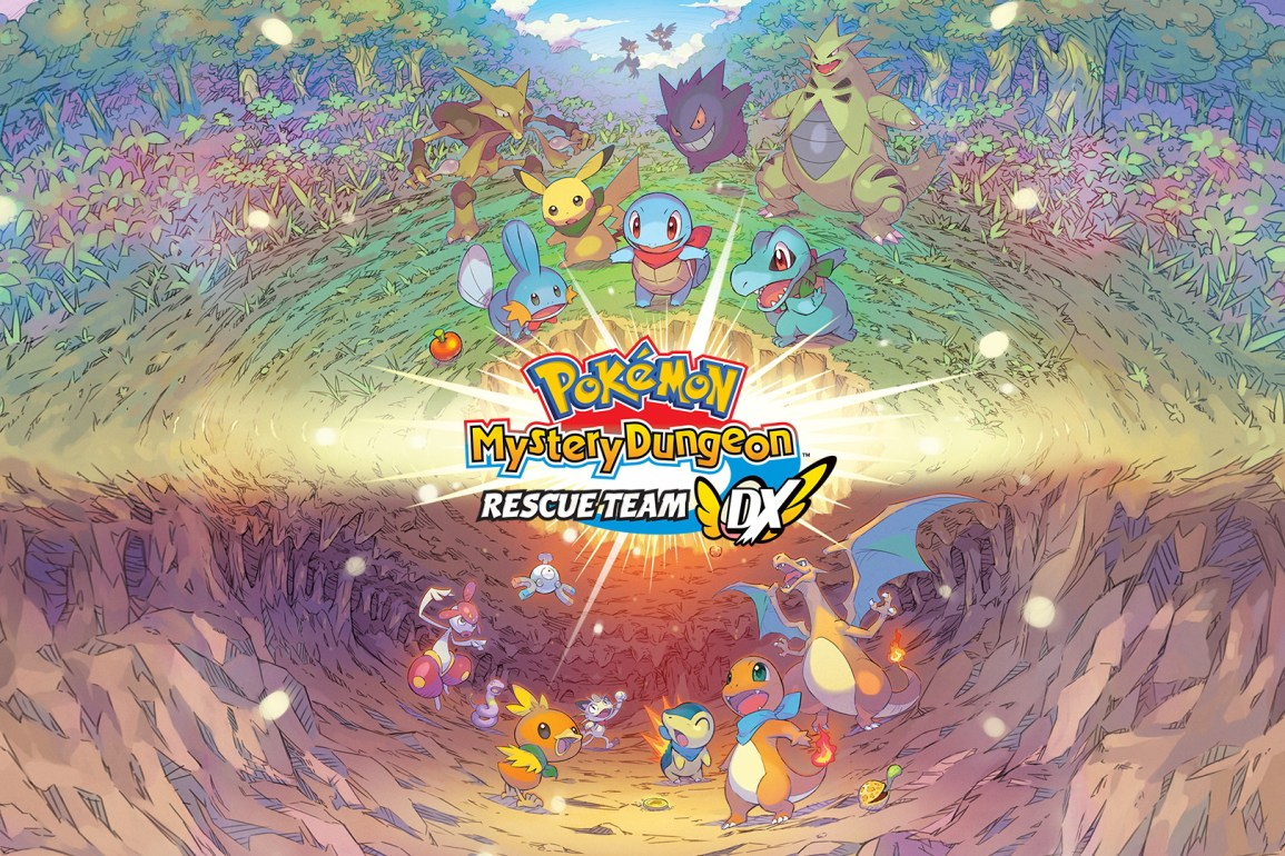 Pokémon Mystery Dungeon: Rescue Team DX wallpaper