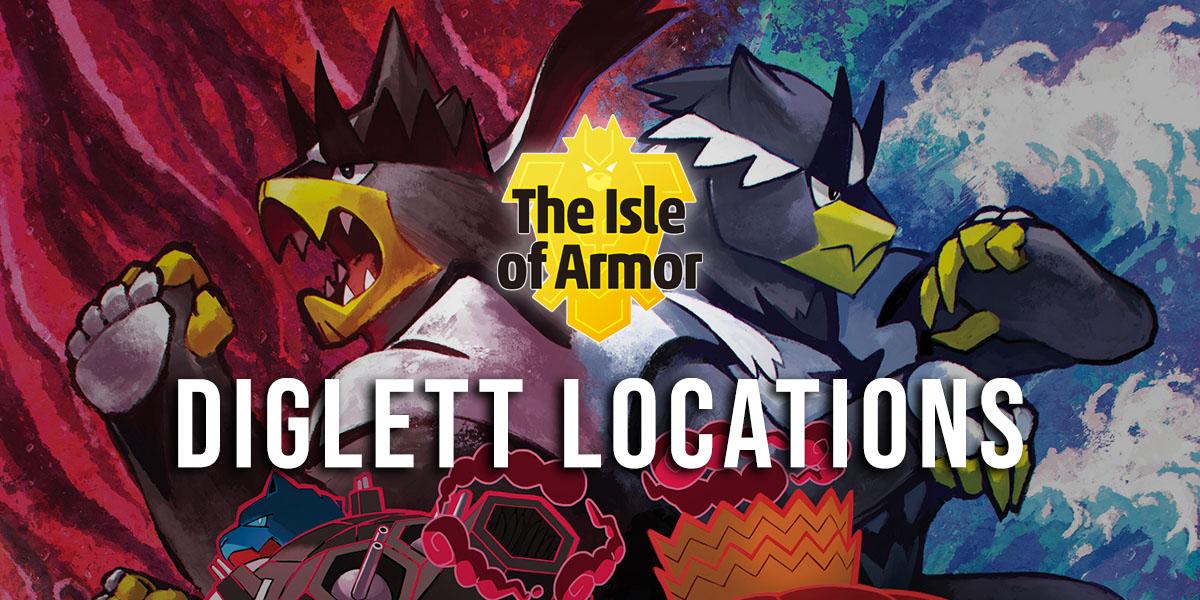 Alolan Diglett Locations