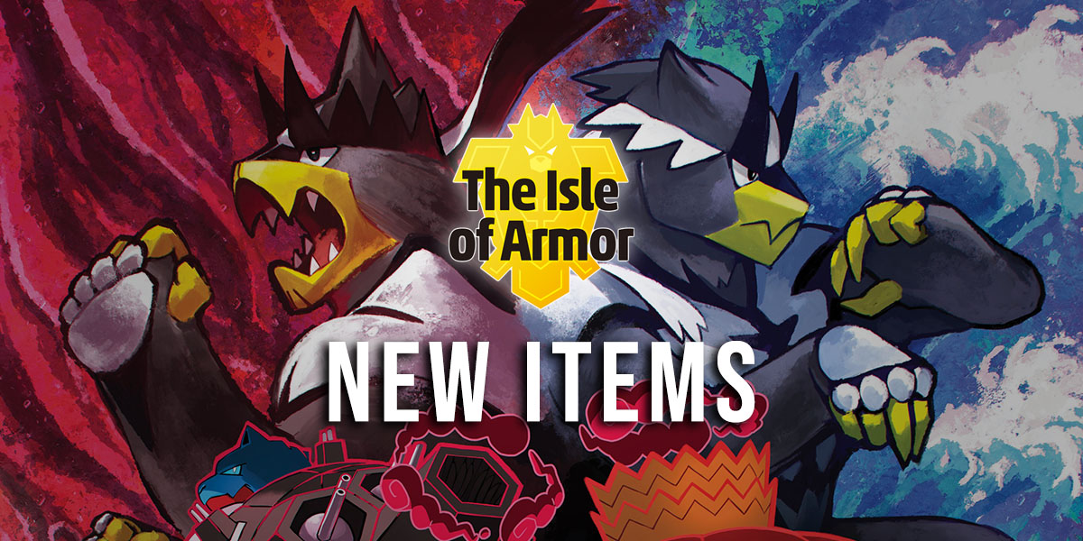 New Items Added in the Isle of Armor
