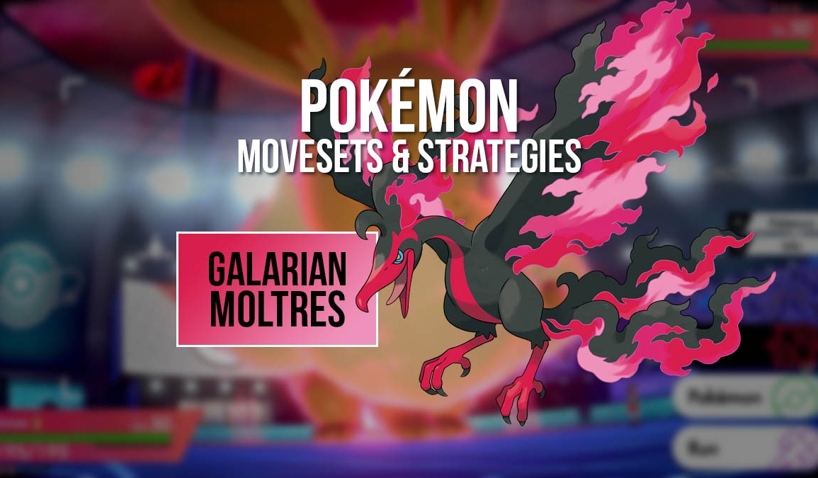 Moveset and strategy for Galarian Moltres in Pokémon VGC