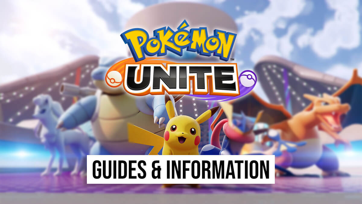 Information and guides for Pokémon UNITE