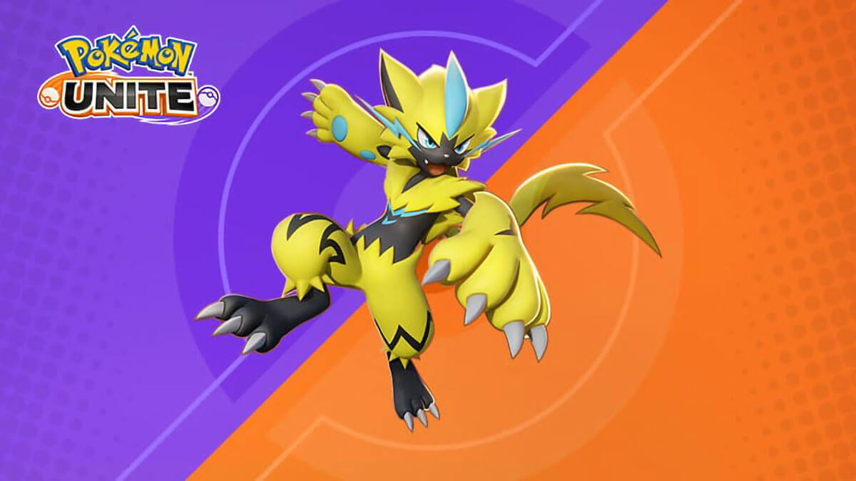 Receive Zeraora for free in Pokémon UNITE