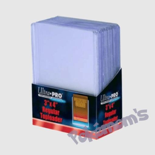 Sleeves Toploader x25 - Pokemoms