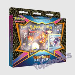 Coffret Pins EB4.5 Destinées radieuses Glaquette - Pokemoms