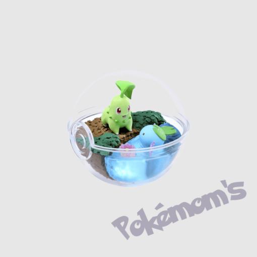 Terrarium Germignon Axoloto Collection 5 - Pokemoms